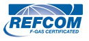 REFCOM F-Gas Certification logo